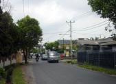 Hlavní ulice kousek od domu