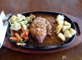 Kuřecí steak s bramborem