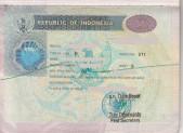 Vízum Indonésie